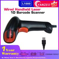 1D Barcode Scanner  Yanzeo L1000  Portable USB Wired Handheld 2.4G Laser Light Scanner