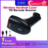 1D Laser Barcode Scanner  Yanzeo L1010  Wireless 2.4G Handheld USB Code 39 93 PDF417 barcode reader