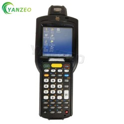 For Motorola Symbol MC3190 MC3190-RL3S04E0A 1D Laser 38Key Computer Barcode Scanner Win CE 6.0 256M 1GRAM In Good Working