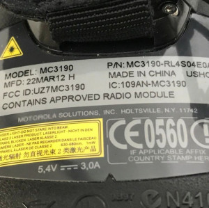 MC3190-RL4S04E0A For Motorola Symbol MC3190 1D 48Key CE 6.0 Barcode Scanner