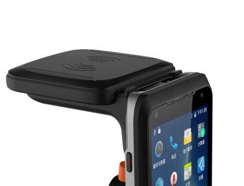 UHF RFID Reader  Yanzeo SR3000U   Rugged Handheld Mobile Computing with Android 8.1,4G, Wifi for Asset Management, Anti-theft