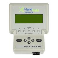 Honeywell Quick Check 850 Series Handheld Barcode Verifier barcode scanner barcode reader