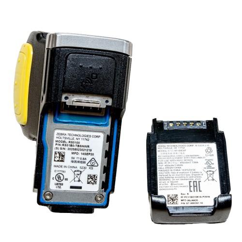 Zebra RS5100 Finger Ring Scanner,Rugged bluetooth barcode scanner, Single-finger Featherweight scanner