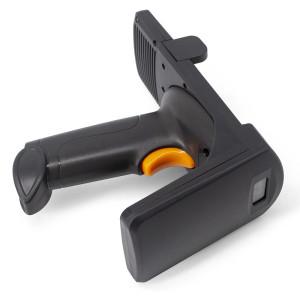 Handheld UHF RFID Reader  Yanzeo R12  Pistol Long Range 1D 2D Barcode Scanner with Wireless 2.4G Bluetooth USB Barcode Reader ISO 18000-6C