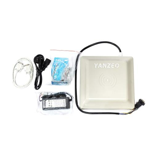 6m Long Range UHF RFID Reader  Yanzeo SR682  Outdoor IP67 8dbi Antenna RJ45/RS232/RS485/Wiegand Output UHF Integrated Reader Network Port
