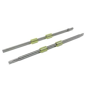 SLON 2PCS PA03630-Y210 PA03540-Y075 PA03540-Y078 PA03540-G078 Feed Roller Kit with Iron Shaft for Fi-6240Z Fi-6140Z Fi-6230Z fi-6130Z fi-6240 fi-6140 fi-6230 fi-6130 fi-6125 fi-6225