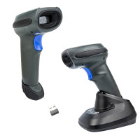 2D OCR barcode scanner| Yanzeo E9820i| Rugged Wireless barcode reader 2D with OCR , Bluetooth For Airport, Custom Number Identification