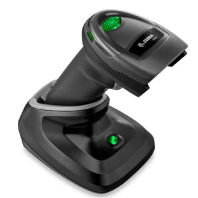 DS2278-SR Handheld Reader For Zebra DS2278 Wireless Barcode Scanner with USB Kit + Cradle Black