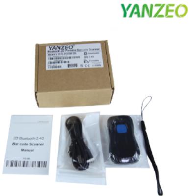 YANZEO P2000 1D 2D Bluetooth Barcode Scanner 1D 2D Bluetooth 2.4GHz Wireless Transfer Wireless Barcode Reader