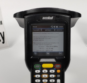 MC3190 MC319Z-GL4H24E0W Motorola Symbol RFID Reader 1D Barcode Scanner with battery, cradle