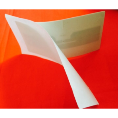 R124 6C tag 18 meters 860-960Mhz Vehicle Windshield UHF RFID tag For Car Parking