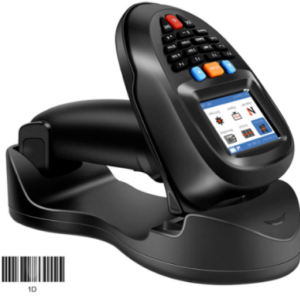 2.4GHz Handheld Data Terminal Collector Barcode Scanner For Inventory