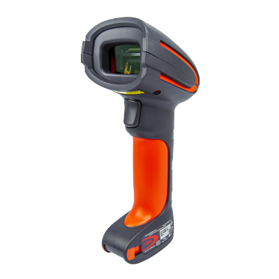Granit 1280I Honeywell Barcode Scanner| USB Industrial-Grade 1D Laser Wired barcode reader Full Range Laser Scanner, FR Focus, RS232 Cable, with Vibrator, Red