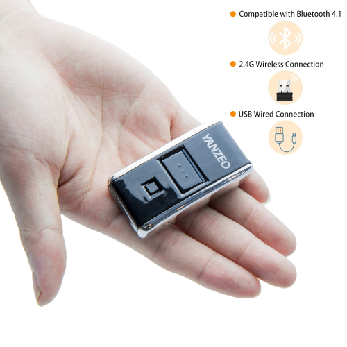 YZ2002 1D Mini Wireless Scanner Portable Bluetooth barcode reader Pocket Memory Laser Scanner (10pcs)