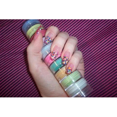 Fine  glitter powder shaker for nail  art decoration