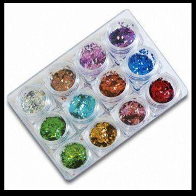 Eco-freindly glitter powder for  nail art