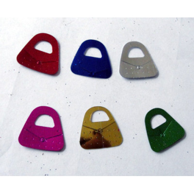 Hand bag shape table confetti for Birthday celebration decoration