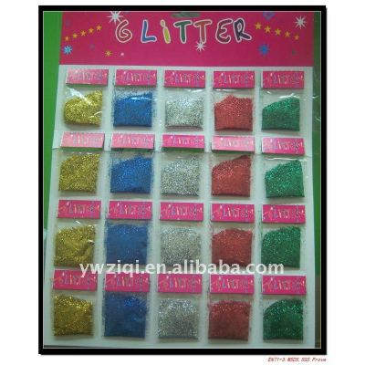 fine embossing glitter powder for Christmas gift decoration