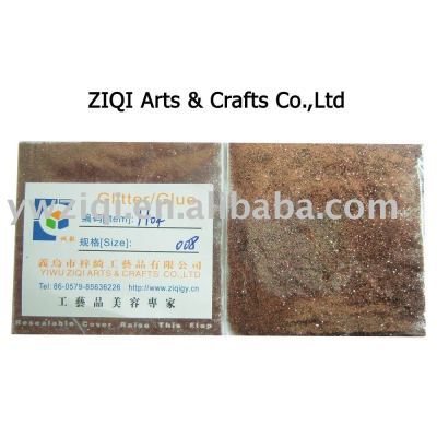 Envioronmenatl glitter powder special for glitter glue pen