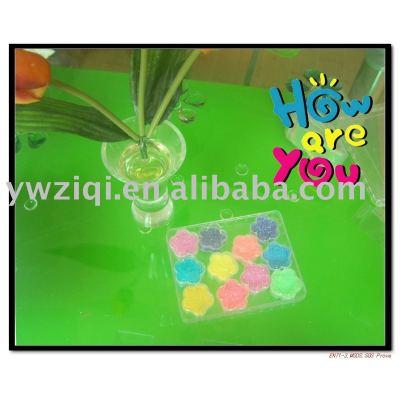 Hexagon Glitter powder kit used for home ornament