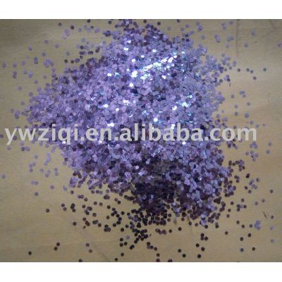 Hexagon glitter powder for holiday gift and decorations