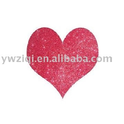 Red color embossing glitter powder using in glitter glue