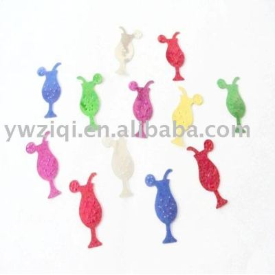 metallic color pvc paillette for decoration