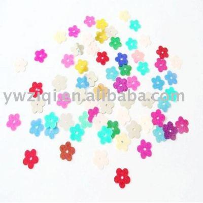 Flower shape PVC material confetti