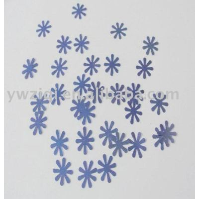 PVC confetti for the party decoration