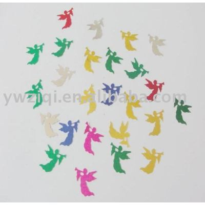 PVC Angel shape party confetti for festival decoration