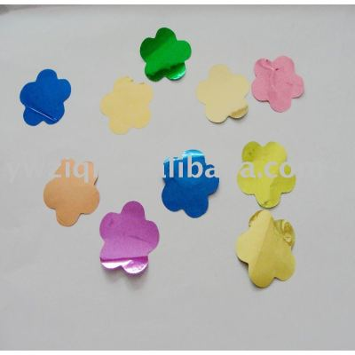Polyester flower party and funiture decoration confetti