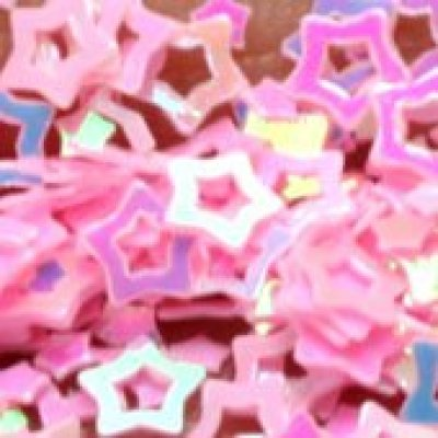 special chrismas decorative star confetti