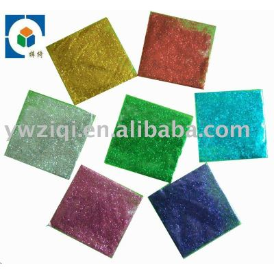 Colorful Glitter powderfor Christmas gift decoration