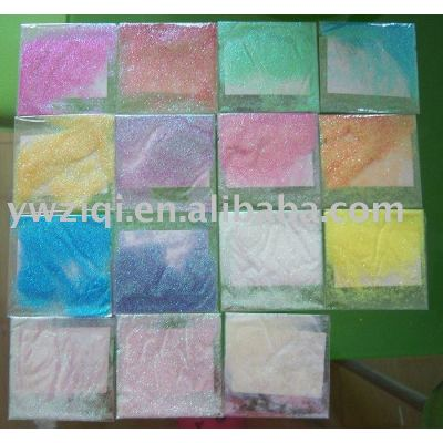 high temperature rainbow color glitter powder for photo albums