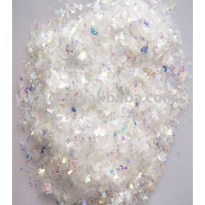 High temperature Rainbow color PET glitter powder for birthday card