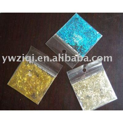 hexagon high temperature glitter powder