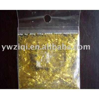 High temperature glitter powder fiber