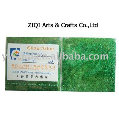 Hexagon glitter powder for crafts decoration