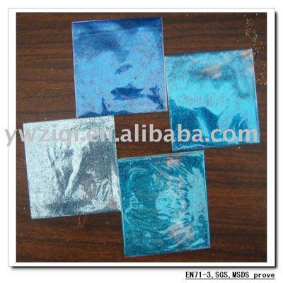 High temperature glitter powder for screen print