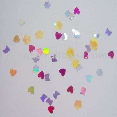 sparkling mixed glitter glue confetti gor nail polish