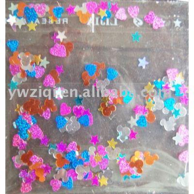 nail art decorative confetti
