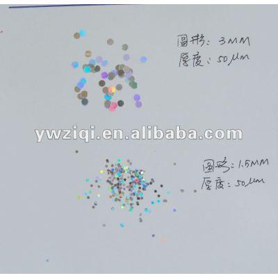 Round shape nail art confetti