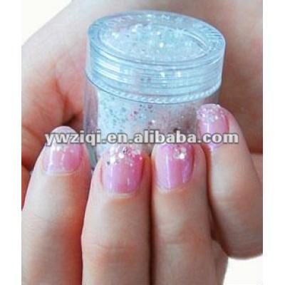 Fine glitter powder for Nail polish