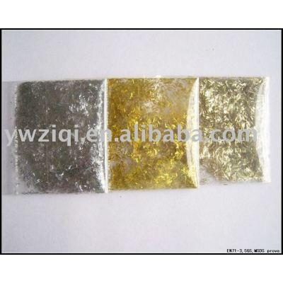 High temperature glitter powder for nail polish