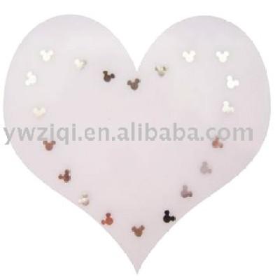 PET Mickey glitter confetti for nail arts
