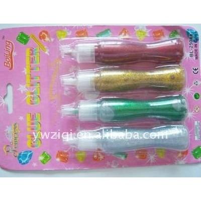 3D glitter glue pen for Children painting