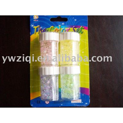 3D Glitter glue used school stationery kit