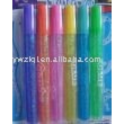 3D Glitter glue pen for school stationery