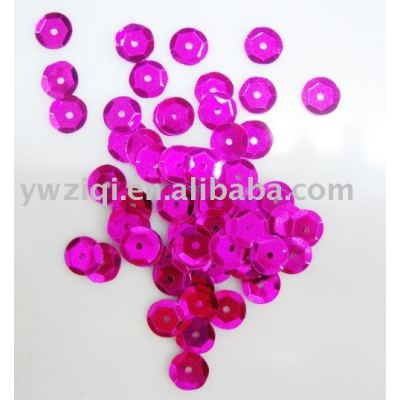 PVC Sequins with hole for garment decoration
