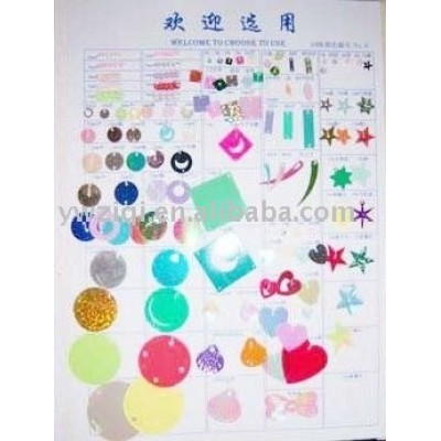 Varies table confetti for festival celebration